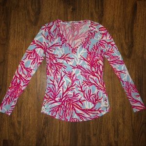 EUC Lilly Pulitzer Nellie Top